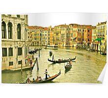 Scene in Venice Poster