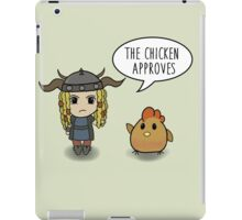 """The Chicken Approves"" HTTYD Race to the Edge iPad Case/Skin"