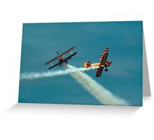 Wing Walkers Greeting Card