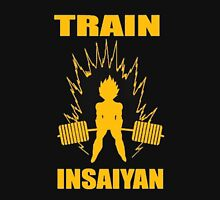 Dragon Ball Z Train Insayian Weight Lifting Shirt T-Shirt