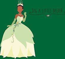 -Tiana Dig a little deeper by spiritofdisney