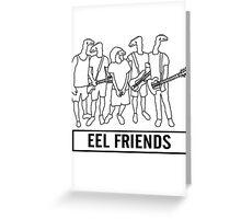 Eel Friends Greeting Card
