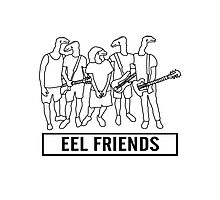 Eel Friends Photographic Print