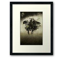 Pro Mou Iugges Framed Print