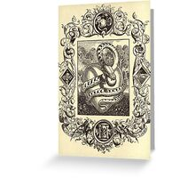 Twisted Reality 4 Greeting Card