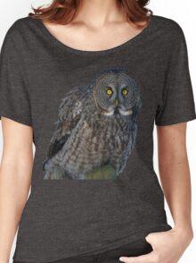 Great Gray Owl Portrait II Women's Relaxed Fit T-Shirt