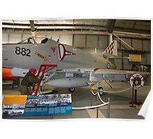 McDonnell Douglas A-4G Skyhawk Poster