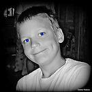 Blue Eyes and Dimples by Debbie Robbins