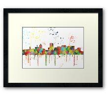 Portland, Oregon Skyline  Framed Print