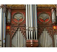 Exeter Cathedral Organ Pipes Photographic Print