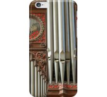 Exeter Cathedral Organ Pipes iPhone Case/Skin