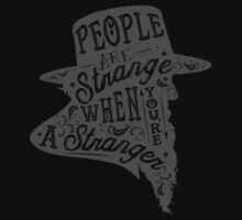 PEOPLE ARE STRANGE One Piece - Long Sleeve
