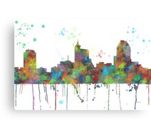 Raleigh, North Carolina Skyline Canvas Print