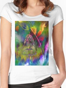 Tulip & Girl. Women's Fitted Scoop T-Shirt