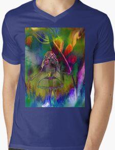 Tulip & Girl. Mens V-Neck T-Shirt