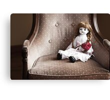 Rose and Doll Canvas Print