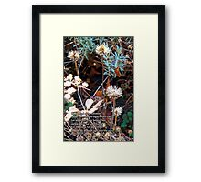 My soul is full of troubles Framed Print