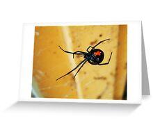 The Widow Greeting Card