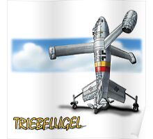 Focke-Wulf Fw Triebflugel Poster