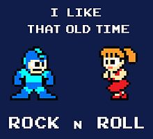 Old Time Rock and Roll - Megaman 8bit Classic by Deezer509