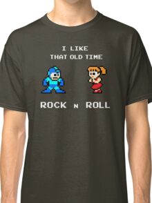 Old Time Rock and Roll - Megaman 8bit Classic Classic T-Shirt