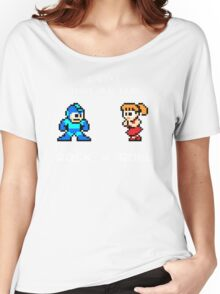 Old Time Rock and Roll - Megaman 8bit Classic Women's Relaxed Fit T-Shirt