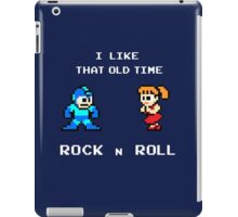 Old Time Rock and Roll - Megaman 8bit Classic iPad Case/Skin