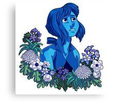 Flower Language - Lapis Canvas Print