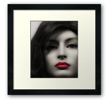 Thirsty Enticement Framed Print