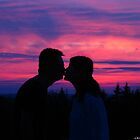 Sunset silhouettes by MarianBendeth