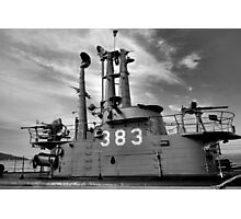 USS Pampanito Still Life  Photographic Print