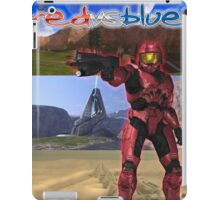 Red Vs Blue Sarge iPad Case/Skin
