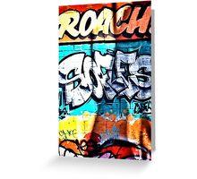 Melbourne- Graffiti Street - Hosier Lane - Victoria - Australia  Greeting Card