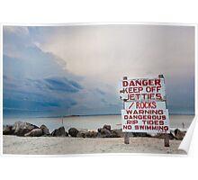 Approaching Summer Storm Poster