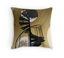 Stairs in the Belltower Throw Pillow