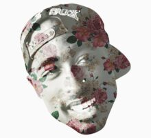 Floral Tupac by lugervandross