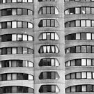River City Detail, Chicago, Bertrand Goldberg by Crystal Clyburn