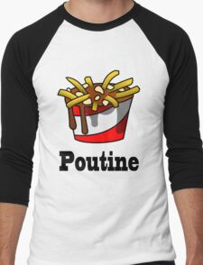The Greasy Poutine Men's Baseball ¾ T-Shirt
