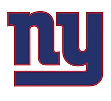 New York Giants Logo Photographic Print