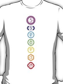 Chakras - The 7 Centers of Force T-Shirt