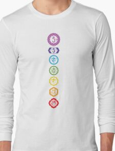 Chakras - The 7 Centers of Force Long Sleeve T-Shirt