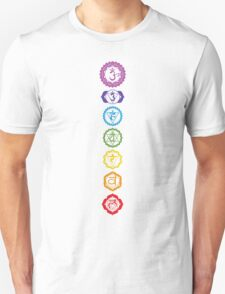 Chakras - The 7 Centers of Force Unisex T-Shirt