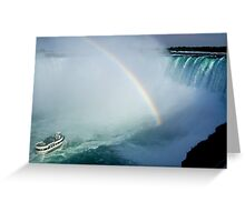 Niagara Challenge Greeting Card