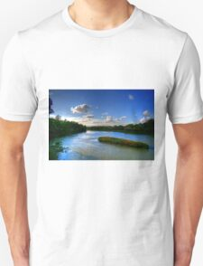 Silence on the River  Unisex T-Shirt