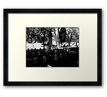 CSA Memorial Framed Print