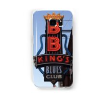 Neon Sign ~ BB Kings Blues Club Samsung Galaxy Case/Skin