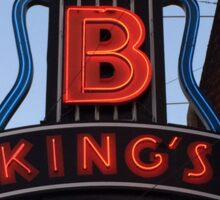 Neon Sign ~ BB Kings Blues Club Sticker
