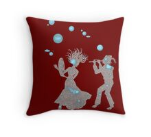 Cosmic Dance with Music of the Spheres Throw Pillow