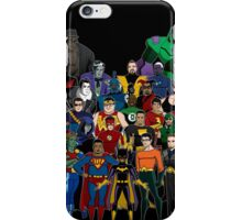 Injustice: A Farewell iPhone Case/Skin