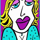 Roxanne the Party Girl © by Dawn Becker